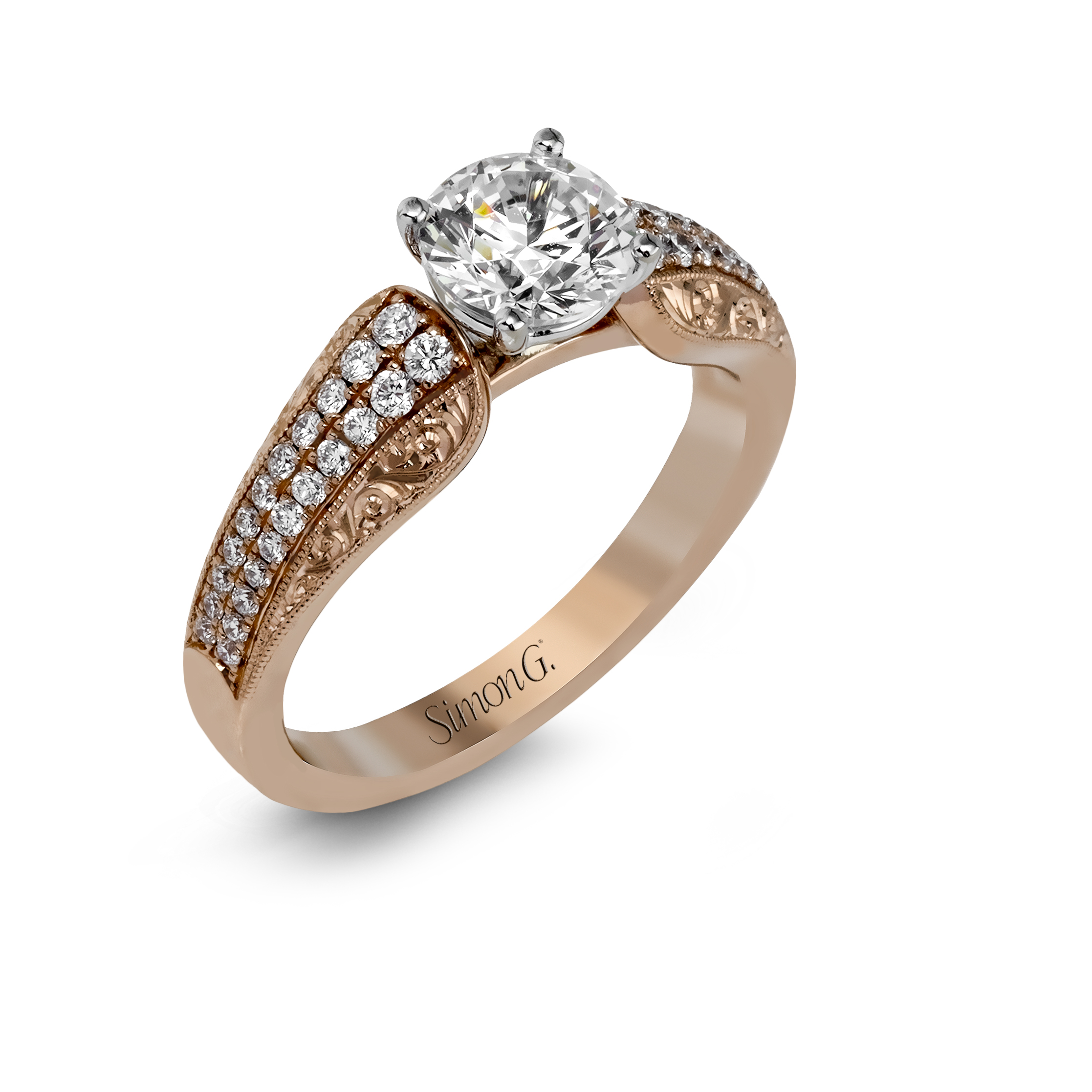 georgian cut diamond solitaire pinterest rings pin rose ring