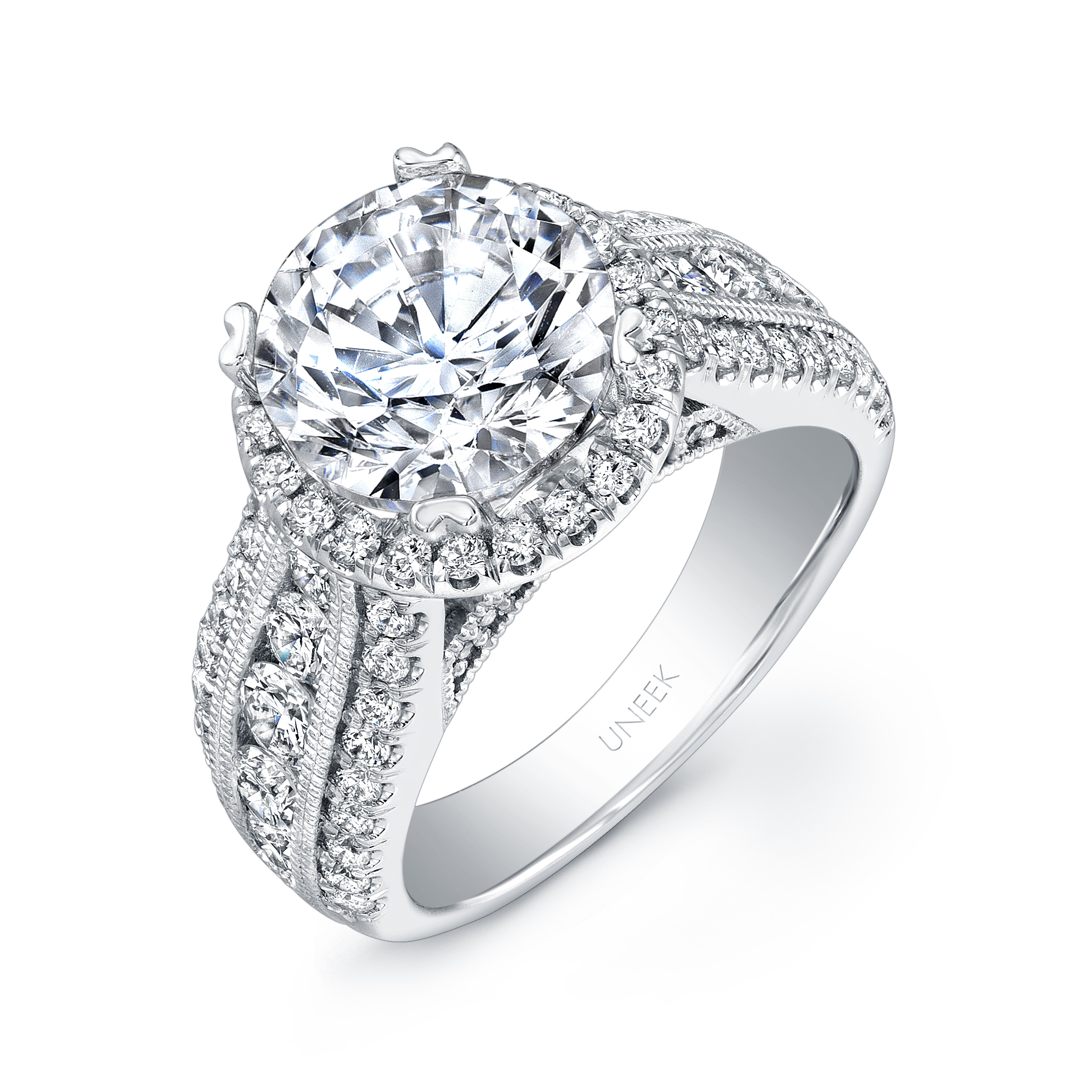 real oval style band bridal with pave ring bands solitaire rings halo diamonds diamond engagement