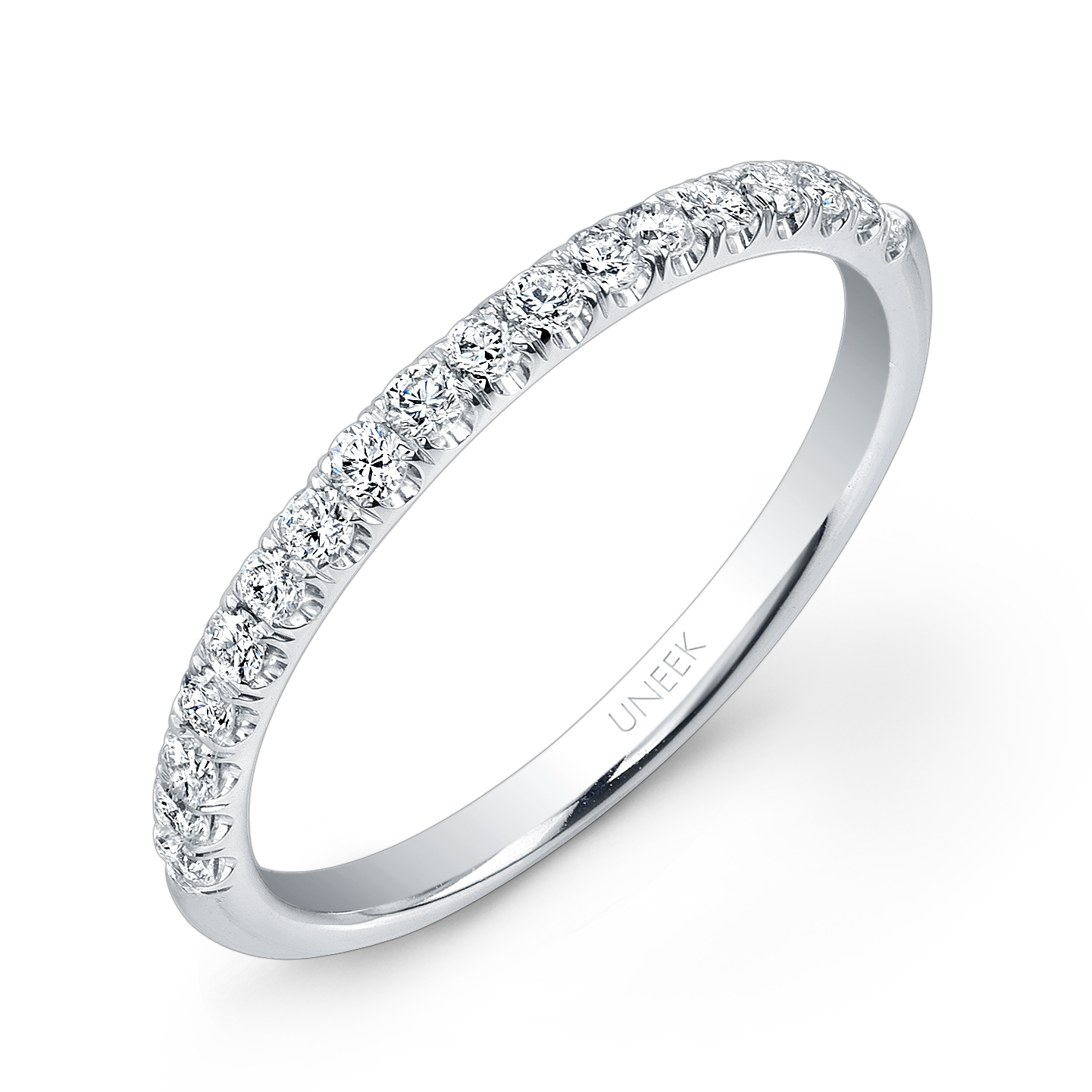 Silhouette Pave Diamond Wedding Band Shannon Fine Jewelry